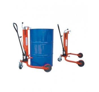 Xe nâng di chuyển phuy DP250 dùng trong các nhà máy hóa chất