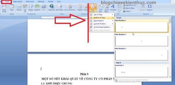 danh-so-trang-trong-word-2010-2007-buoc-5