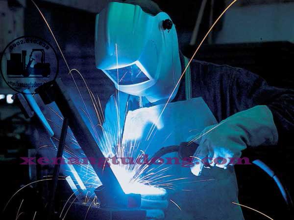Đồ bảo hộ lao động cho ngành cơ khí (thợ hàn))