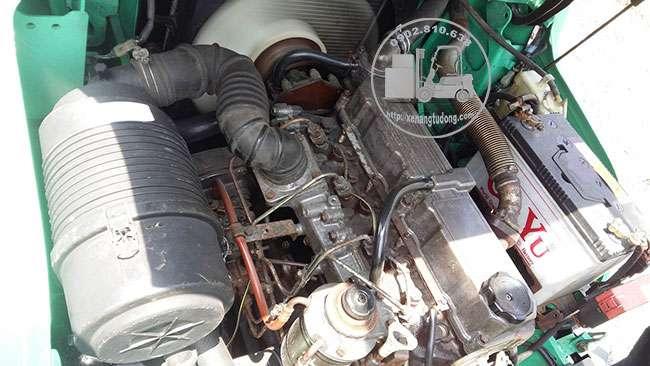 động cơ xe nâng dầu cũ mitsubishi 3 tấn