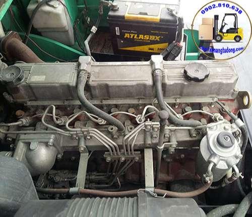 động cơ xe nâng dầu cũ mitsubishi 3.5 tấn
