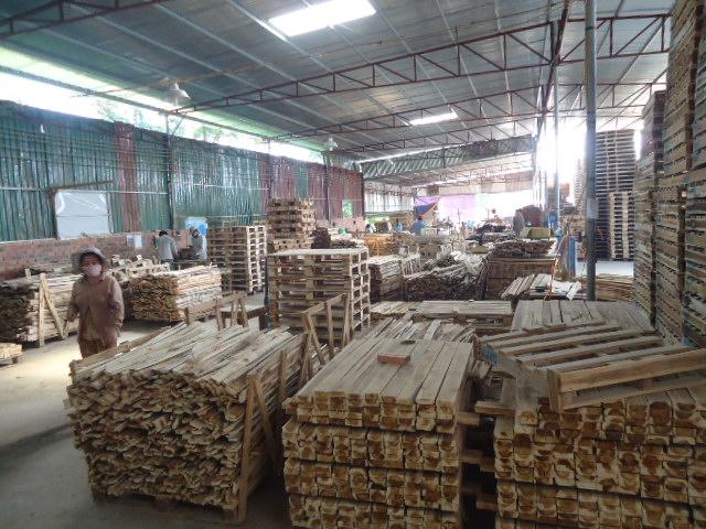 Đóng pallet gỗ chất lượng