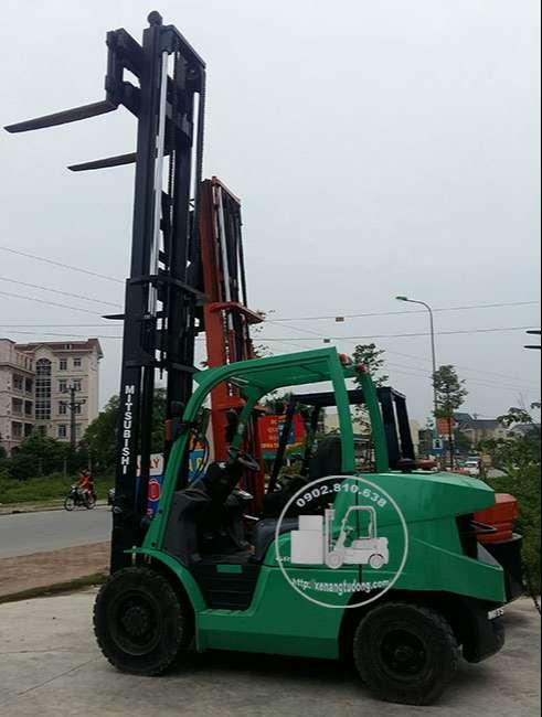 xe nâng dầu cũ mitsubishi 3.5 tấn
