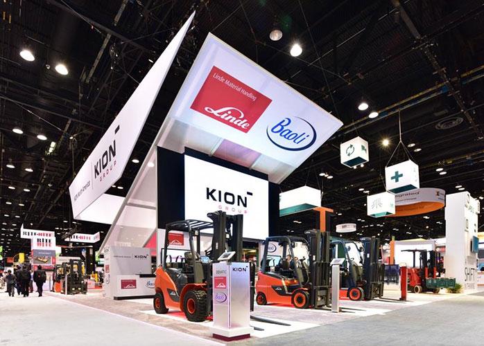 Xe nâng điện Linde thuộc tập đoàn Kion
